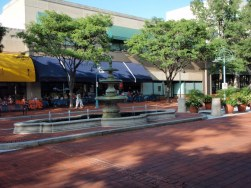 Shirlington fountain